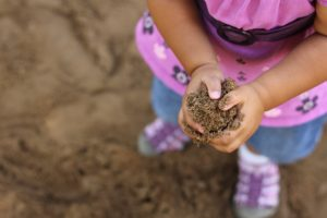 Child with Mud